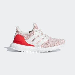 Adidas Ultraboost Red Multi Tennis Shoes NEW  8